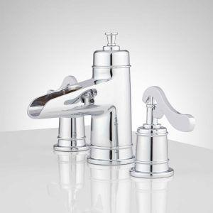 Bathroom Faucets Lavatory Faucets Signature Hardware Regarding Dimensions  1500 X 1500 3 Piece Bath Faucet   Single Hole Bathroom Taps Are Available  In A Va