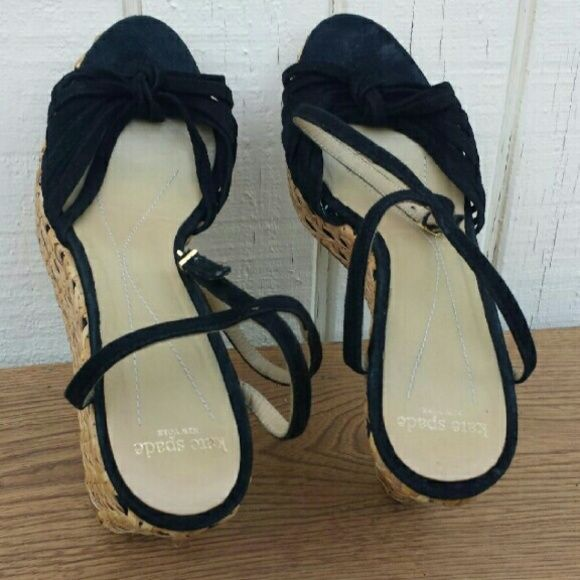 Kate Spade platforms Ready for summer! Wicker platforms. kate spade Shoes Platforms