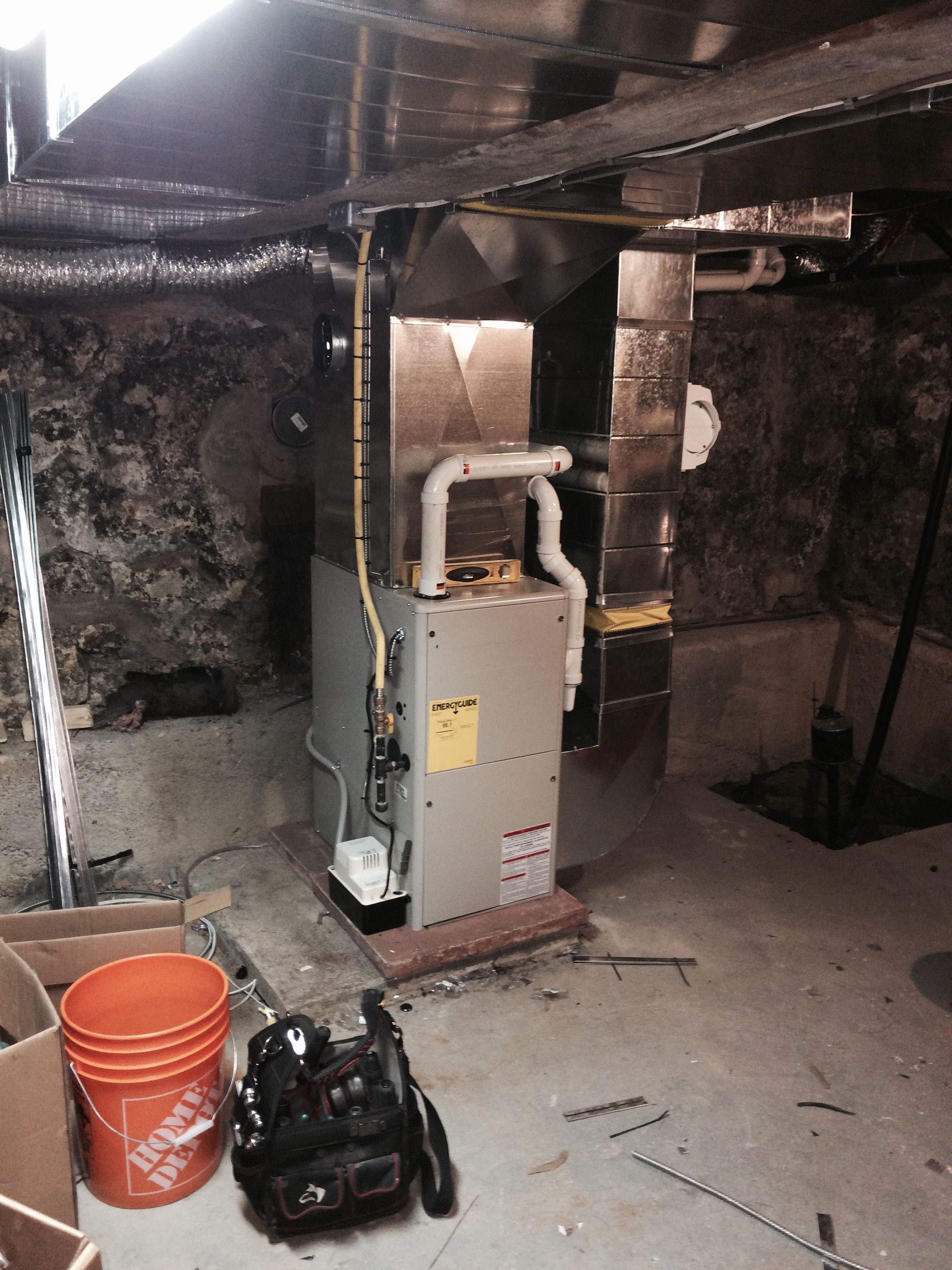 Gibson 95 Afue Natural Gas Fired Furnace Installed In October