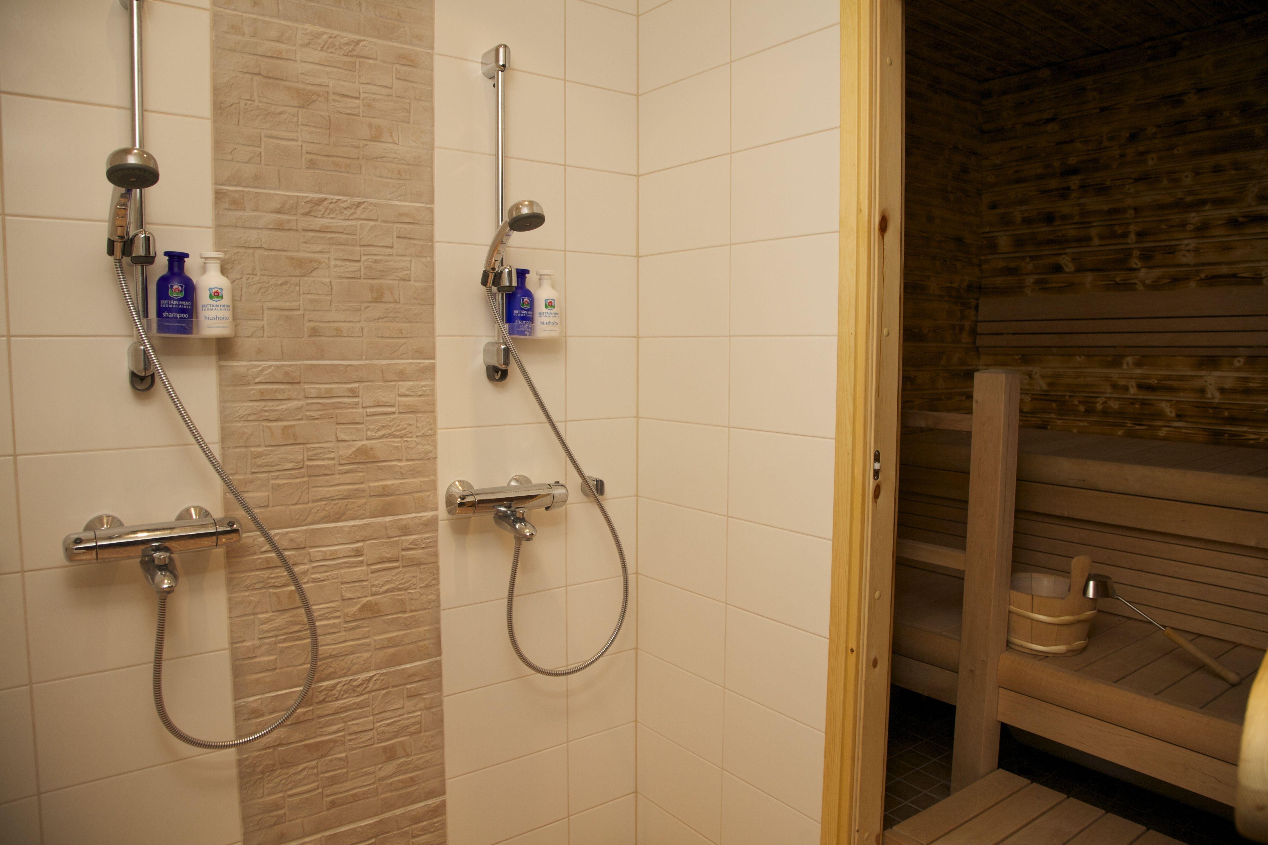 Riverside House apartment sauna bathroom | Arctic Circle ...
