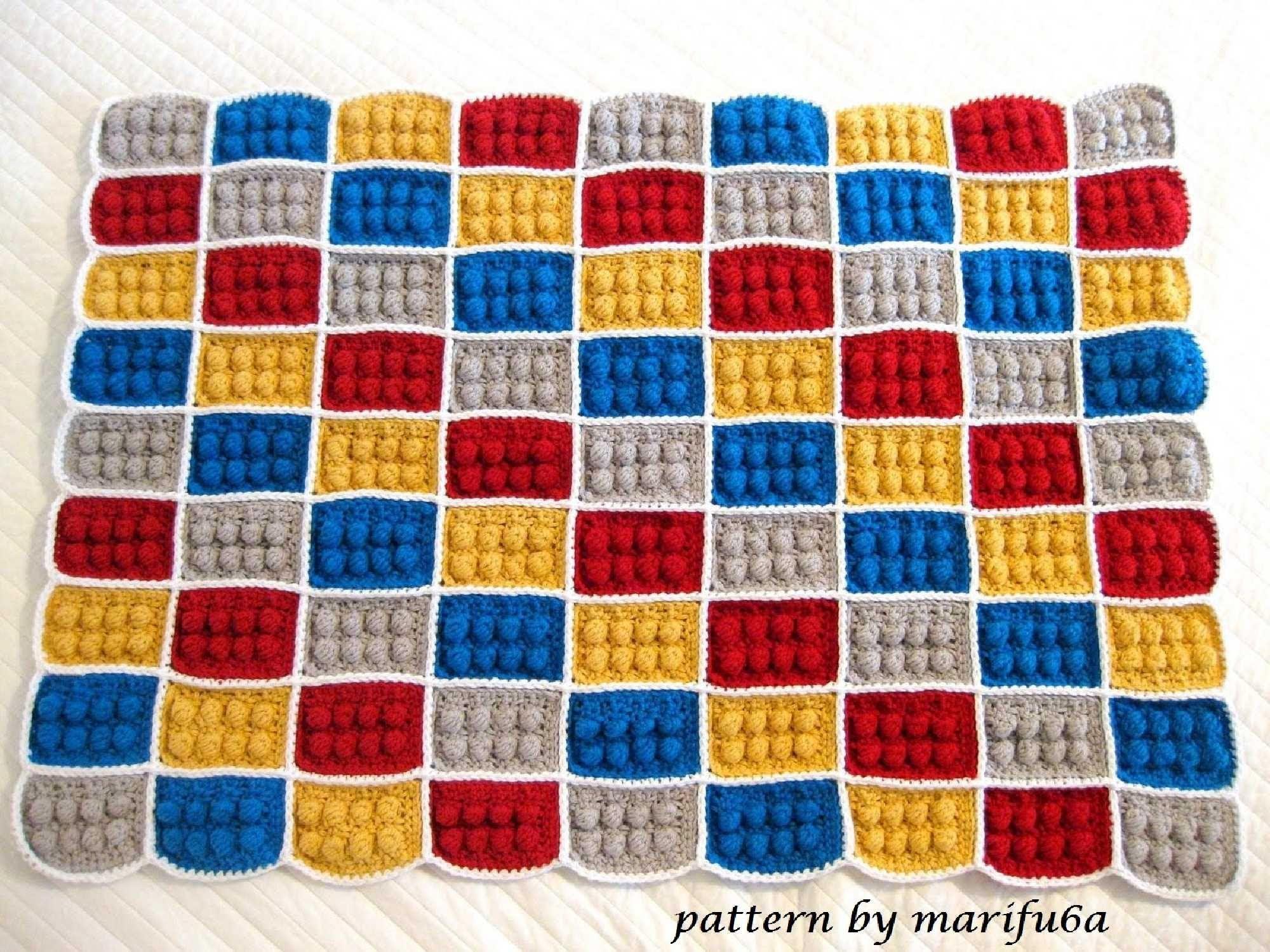 Couverture lego mod le gratuit how to crochet lego - Modele lego gratuit ...