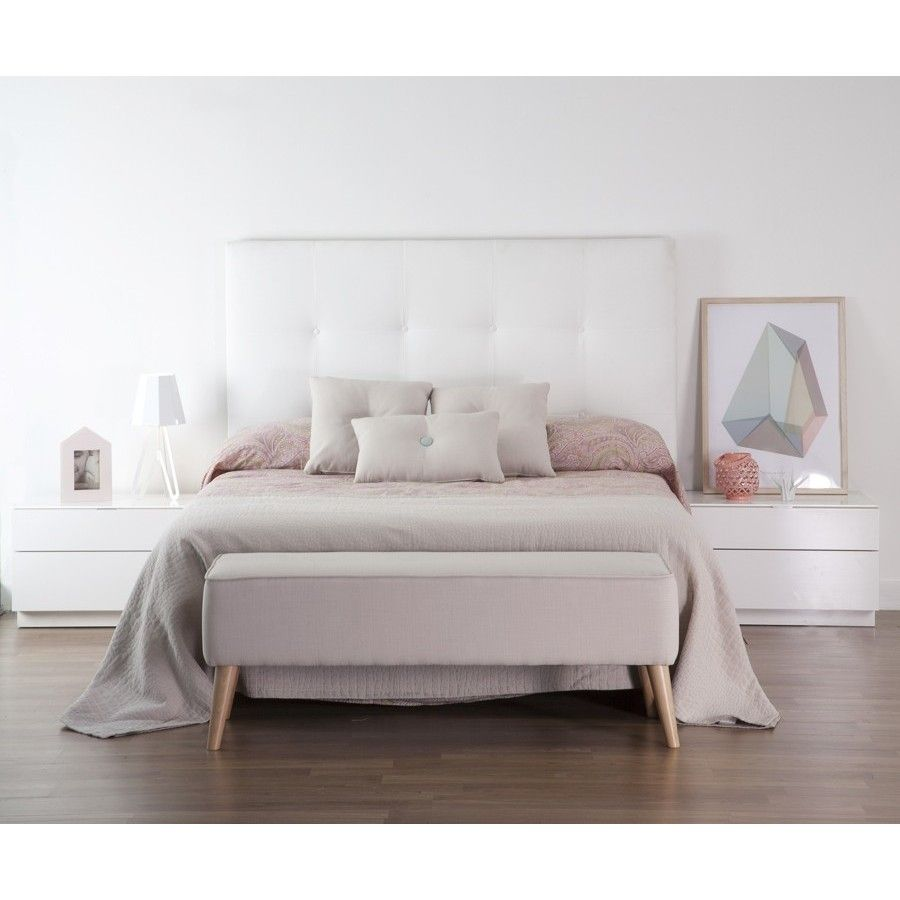 Dyon cabecero tapizado en tela dormitorios - Cabeceros tapizados vintage ...