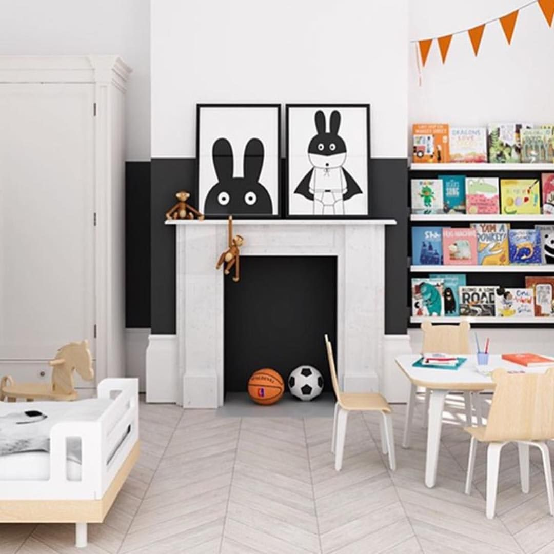Wow our birthday celebration has been a hit! Thank you all and we look forward to seeing our products in your homes so please be sure to always #urbanairedesign so we can check it out! This kids space via @myparadissi is ah-mazing and makes me look forward to designing my kids next rooms! #urbanairedesign #miniwilla #kidsroomdesign #kidsprints #monochromekids