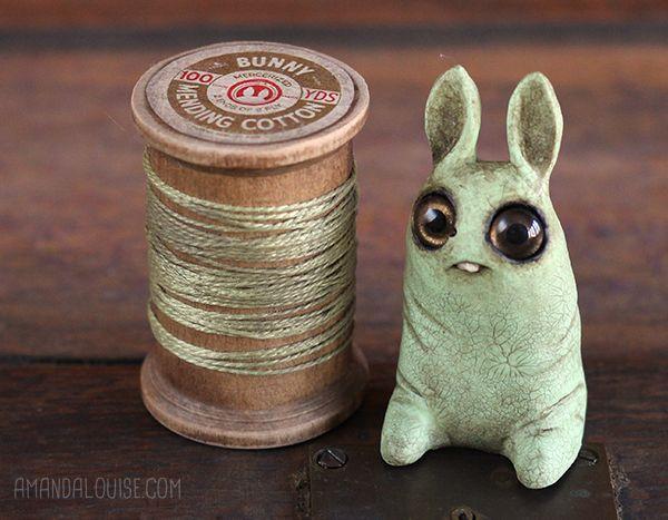 Dust Bunnies, by Amanda Louise Spayd