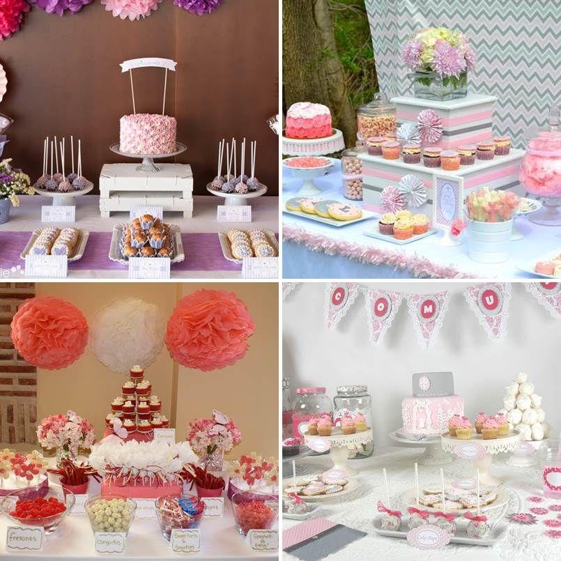 Mesas de dulces para primera comunion 4 tile francia - Decoracion de mesa para comunion ...