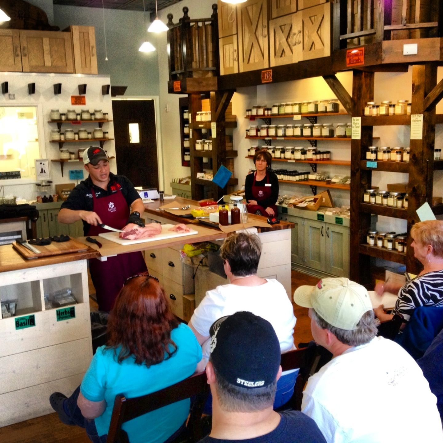 brisket class at savory spice shop in raleigh prime bbq pitmaster