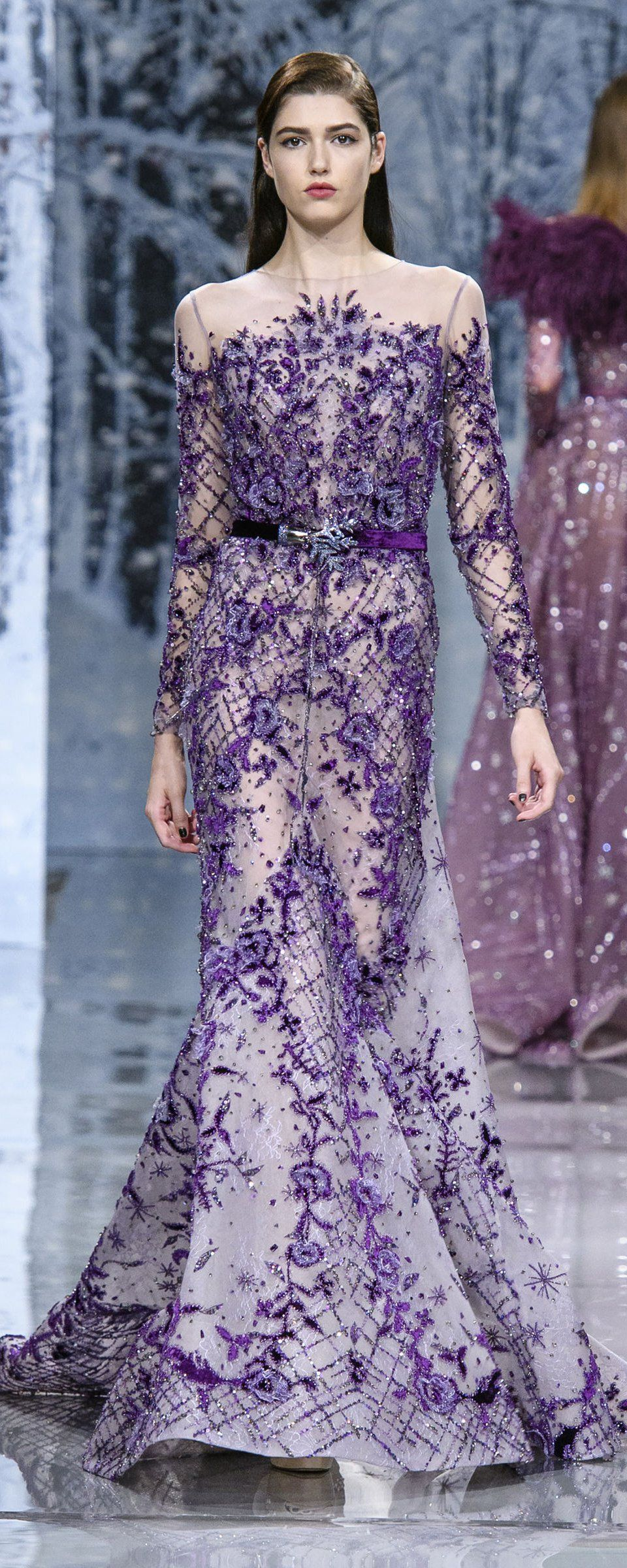Ziad Nakad Fall-winter 2017-2018 - Couture | Lindo, Modelo y Vestiditos