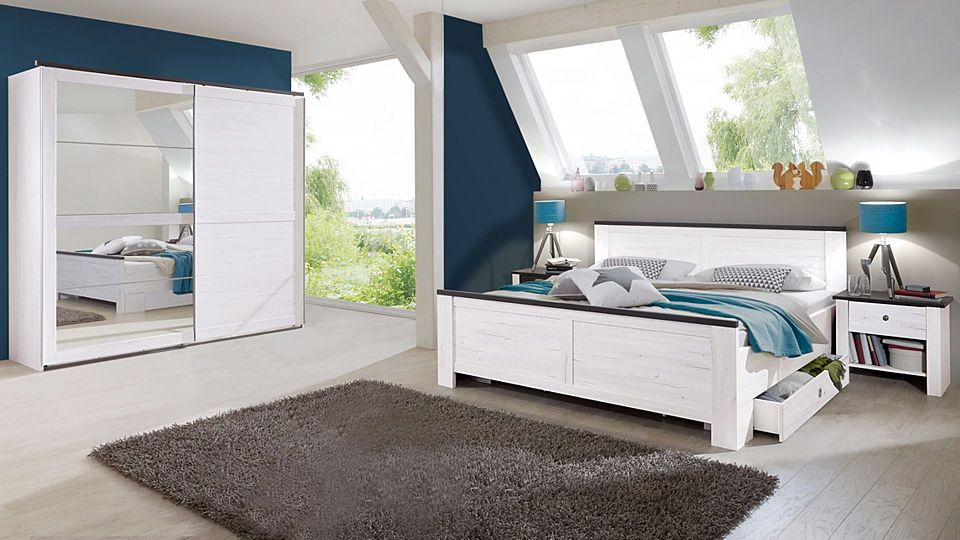 Wimex Schlafzimmer-Sparset mit Schwebetürenschrank (5-tlg) Jetzt