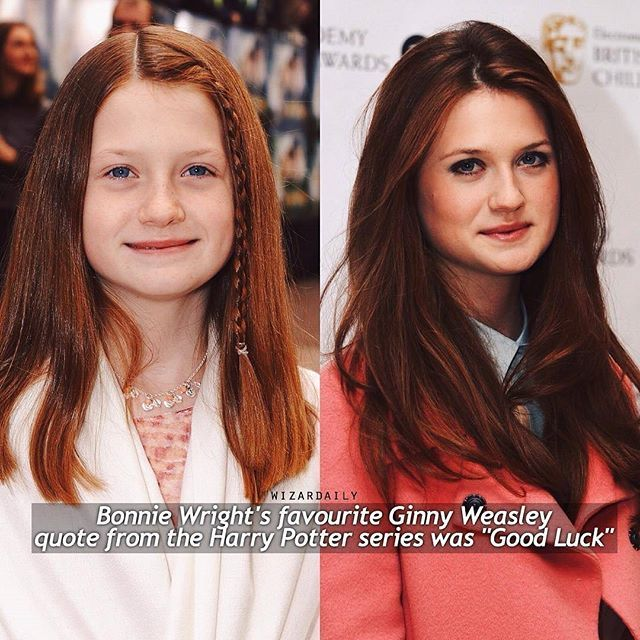Comment Ginny Letter By Letter Without Getting Interrupted Regram Via Grangerisonfire Bonnie Wright Harry Potter Cast Harry Potter Puns