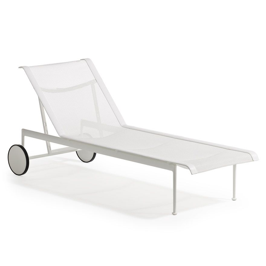 Knoll Modern Chaise Lounge Chaise Lounge Terrace Furniture