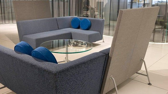 Coalesse Bix Collection Of Lounge Chairs And Tables Create Open And  Welcoming Collaborative Spaces.