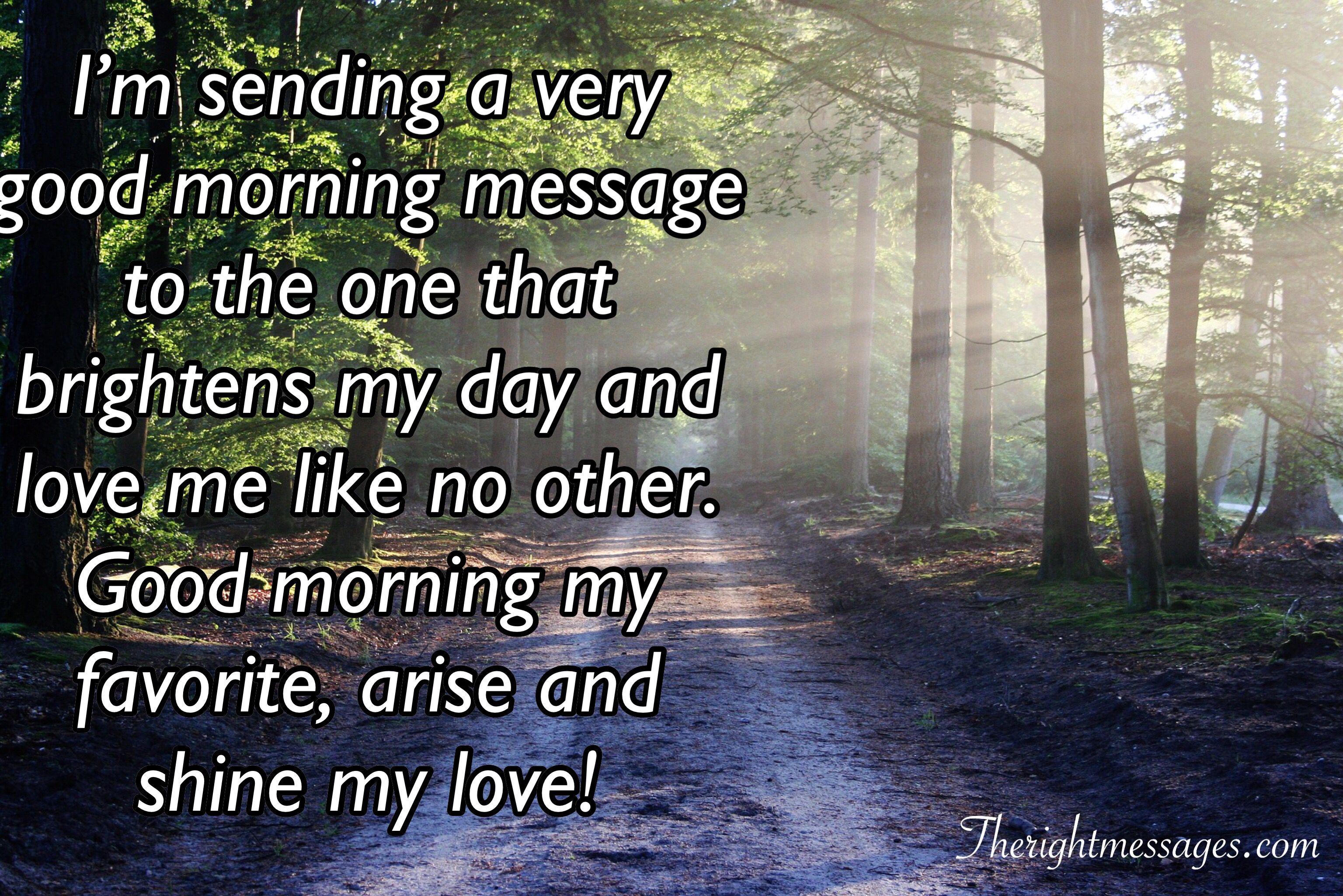For sweet morning boyfriend text 40 Best