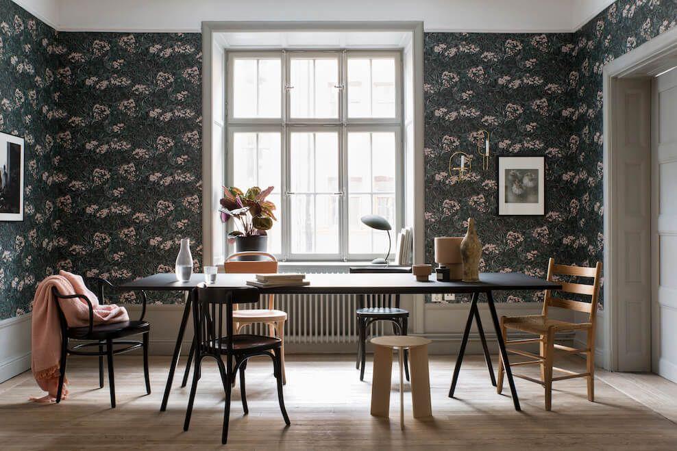Papier peint Malin, collection Oas de Sandberg, en vente chez Au fil ...