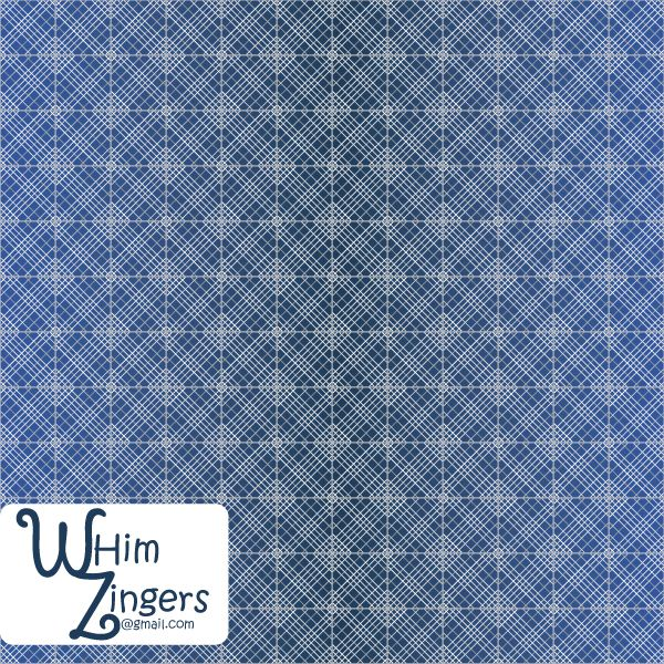 A digital repeat pattern for seamless tiling. #repeatpattern #seamlesspattern #textiledesign #surfacepatterndesign #vectorpatterns #homedecor #apparel #print #interiordesign #decor #repeat #pattern #repeat #repeating #tile #scrapbooking #wallpaper #fabric #texture #background #seamless #textile #design #art #graphic #illustration #art #indigo #blue #white #lines #weave #woven