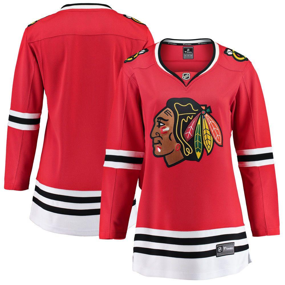 sale retailer 27596 37729 Chicago Blackhawks Women's Home Breakaway Jersey by Fanatics ...