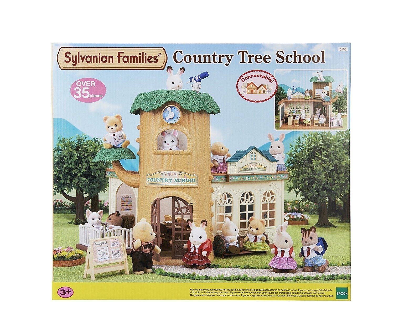 Sylvanian Families Country Tree School Amazon.co.uk Toys