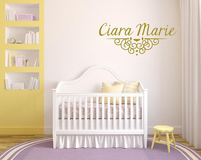 Custom Name Decals Custom Vinyl Decals Nursery Wall Decal Wall - Custom vinyl wall decals nursery