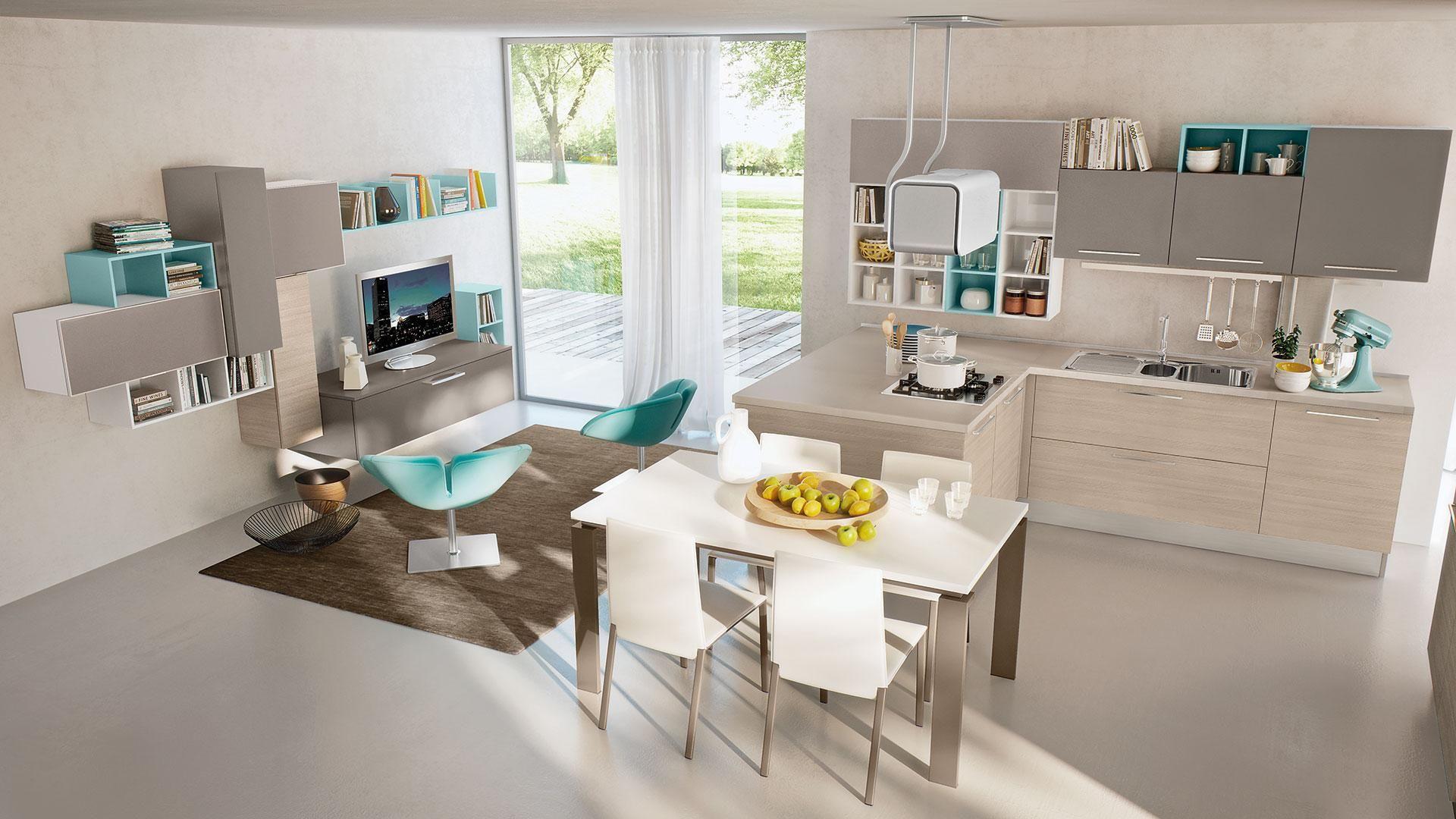 Swing - Cucine Lube | cucina | Pinterest | Cucine, Cucina moderna ...