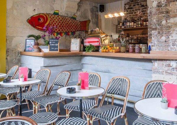 Man nehme das klassische Paris Bistro, kombiniere es mit modernen Designelementen und japanischen Tapas: Heraus kommt das Koko am Quai de la Loire von Nathalie Hsu und Yinhao Hu.