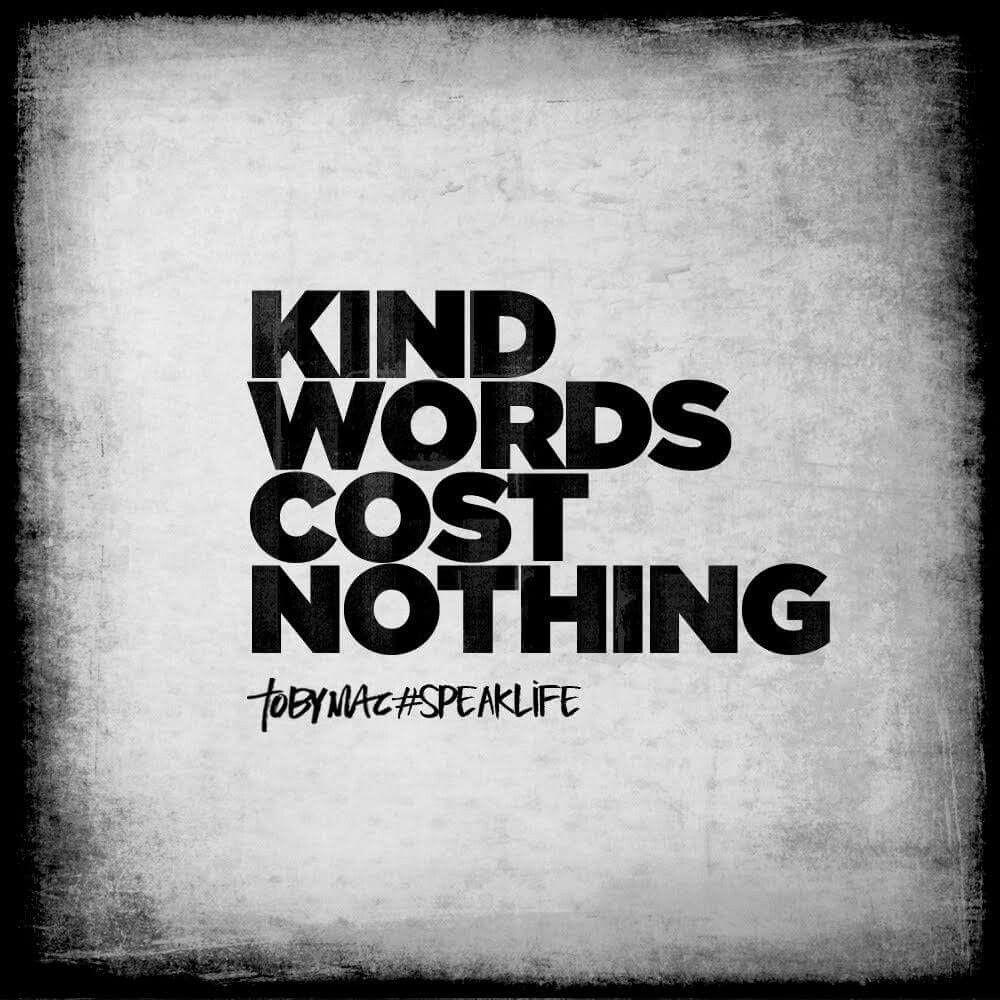 Kindness is the key to unlock the heart Tobymac speak