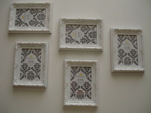 job lot 5 Shabby Chic - vintage style - Picture Photo Frames Frame ...