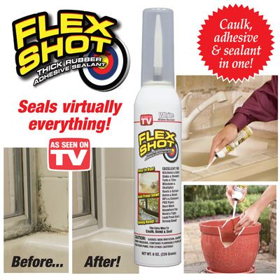 Flex Shot Easy To Use Waterproof Caulk Sealant Might Be Useful To Seal Around Windows This Winter Read Reviews Sealant Rubber Adhesive Rubber Sealant