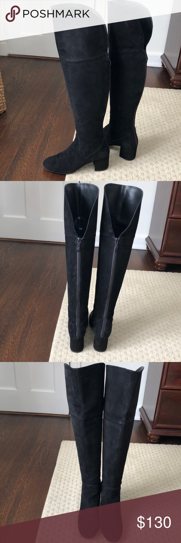 5a3fda4d95a NWOT Sexy Over the Knee Boot NWOB suede over the knee boot by Cole Haan