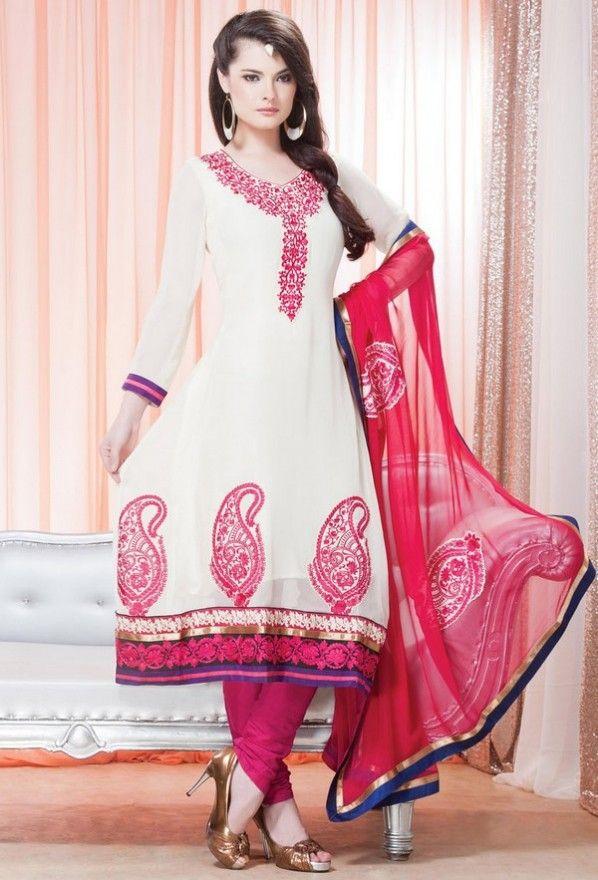 Stand Collar Neck Designs For Salwar Kameez : Salwar kameez collar neck designs simply summer in