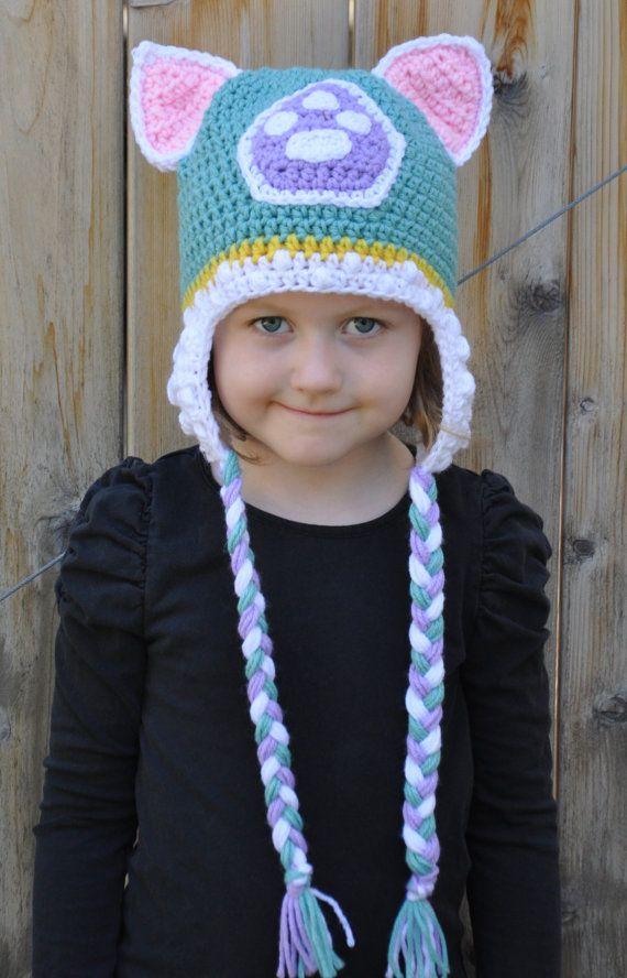 Crochet newborn, baby, toddler or kids paw patrol inspired Everest ...