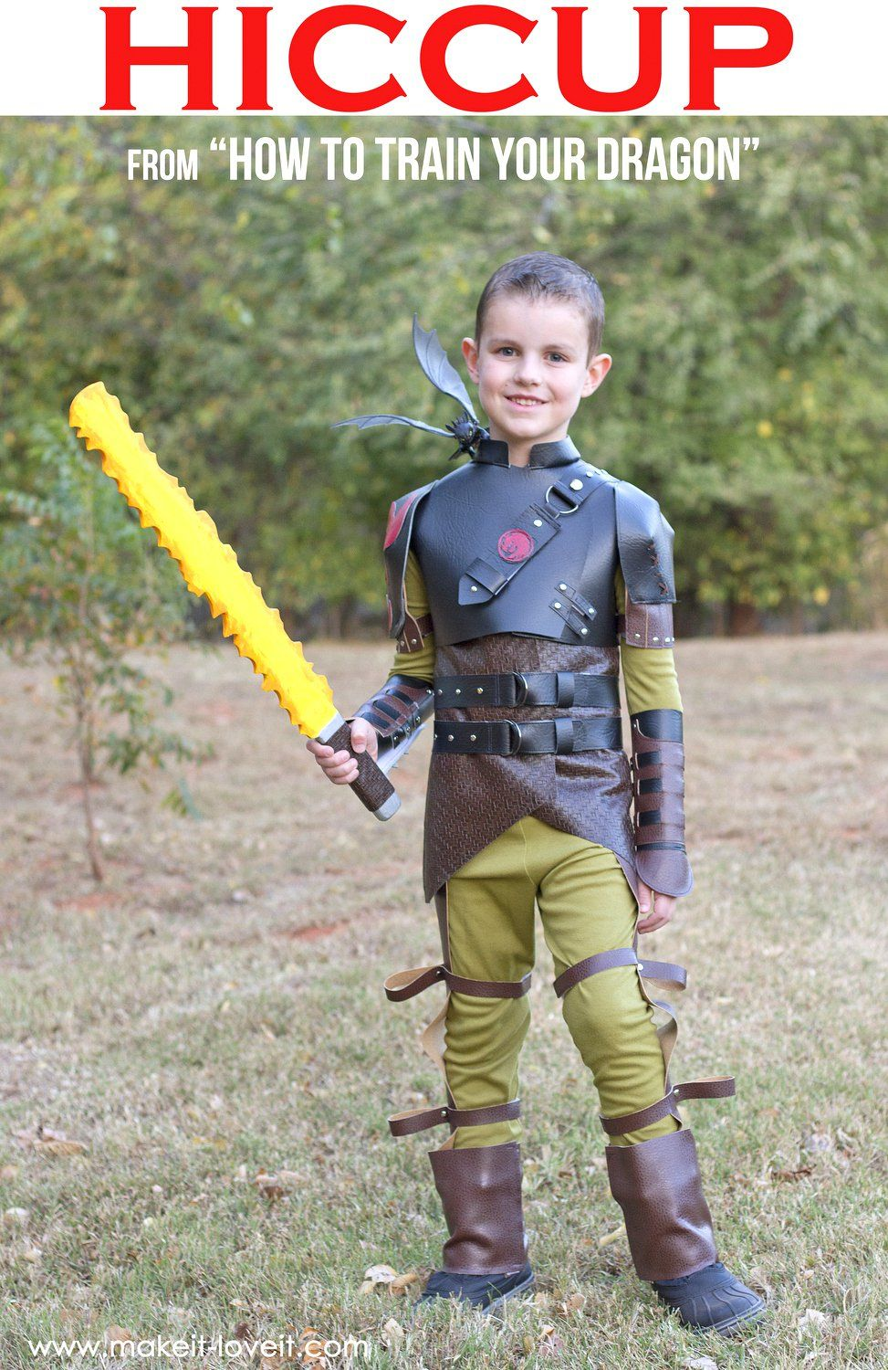 Diy hiccup costumeom how to train your dragon 2 renato diy hiccup costumeom how to train your dragon 2 ccuart Gallery