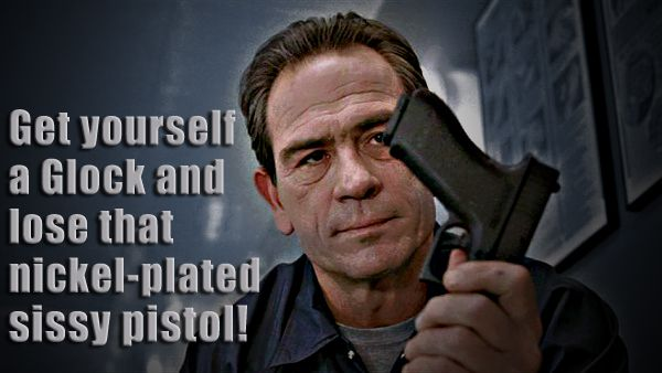 Tommy Lee Jones..... Love his movies. I could listen to him talk all night long.....