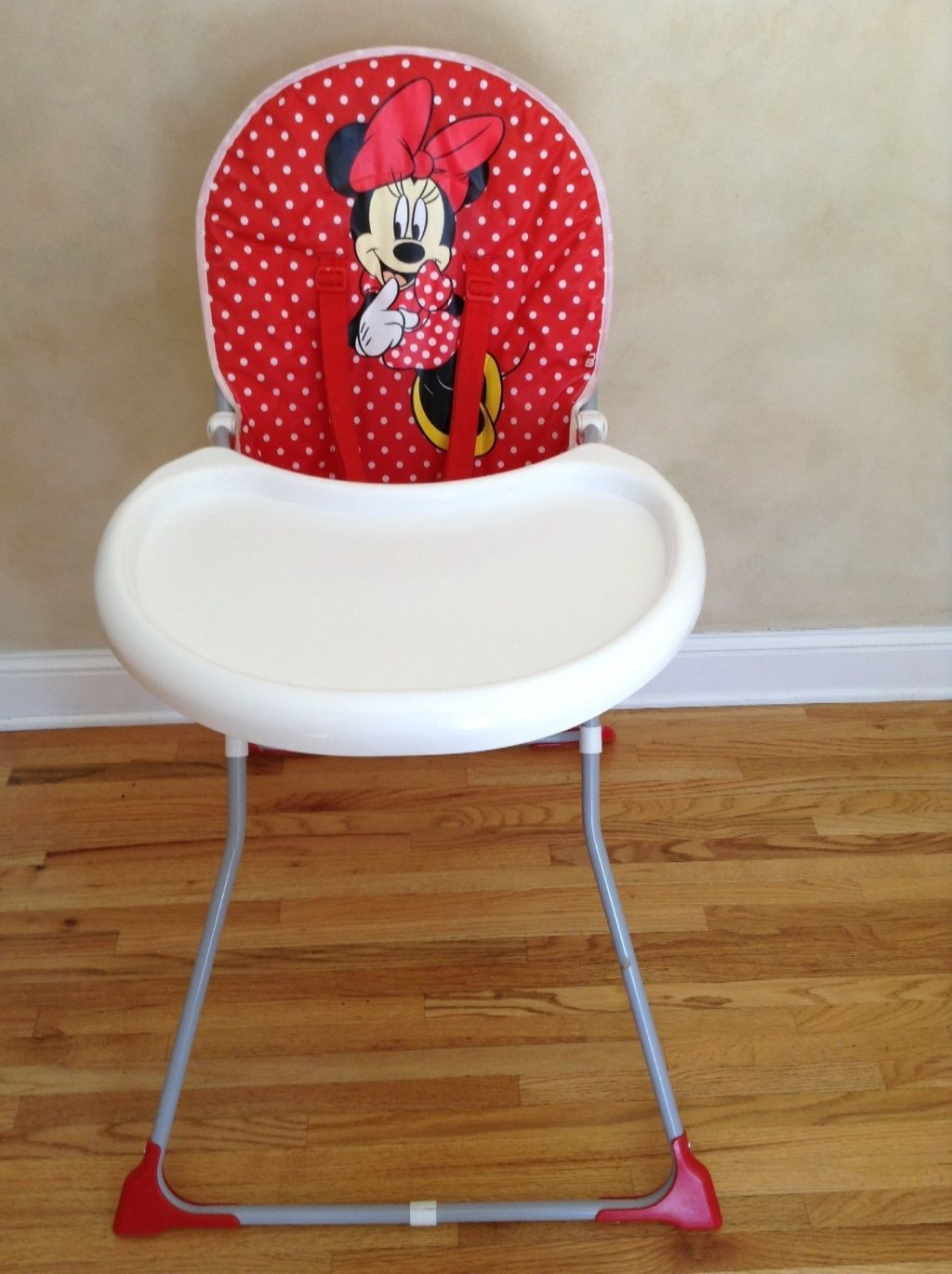 Minnie Mouse Baby Highchair Red And White Polka Dots Baby