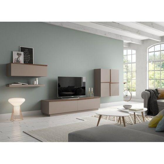 Meuble tv design mural traja atylia atylia meubles tv living room design et room - Atylia meubles decoration ...