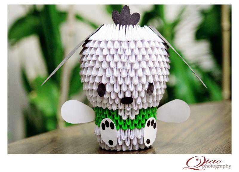 Картинки модульное оригами собачки, надо верить поздравления