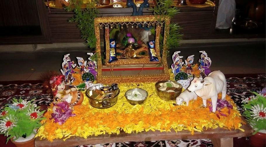 Janmashtami Decoration Ideas is part of Janmashtami decoration - Krishna Jhula and Janmashtami Decoration IdeasWelcome god Krishna, use these awesome Janmashtami decoration ideas to do up your home  Decorate your house and pooja