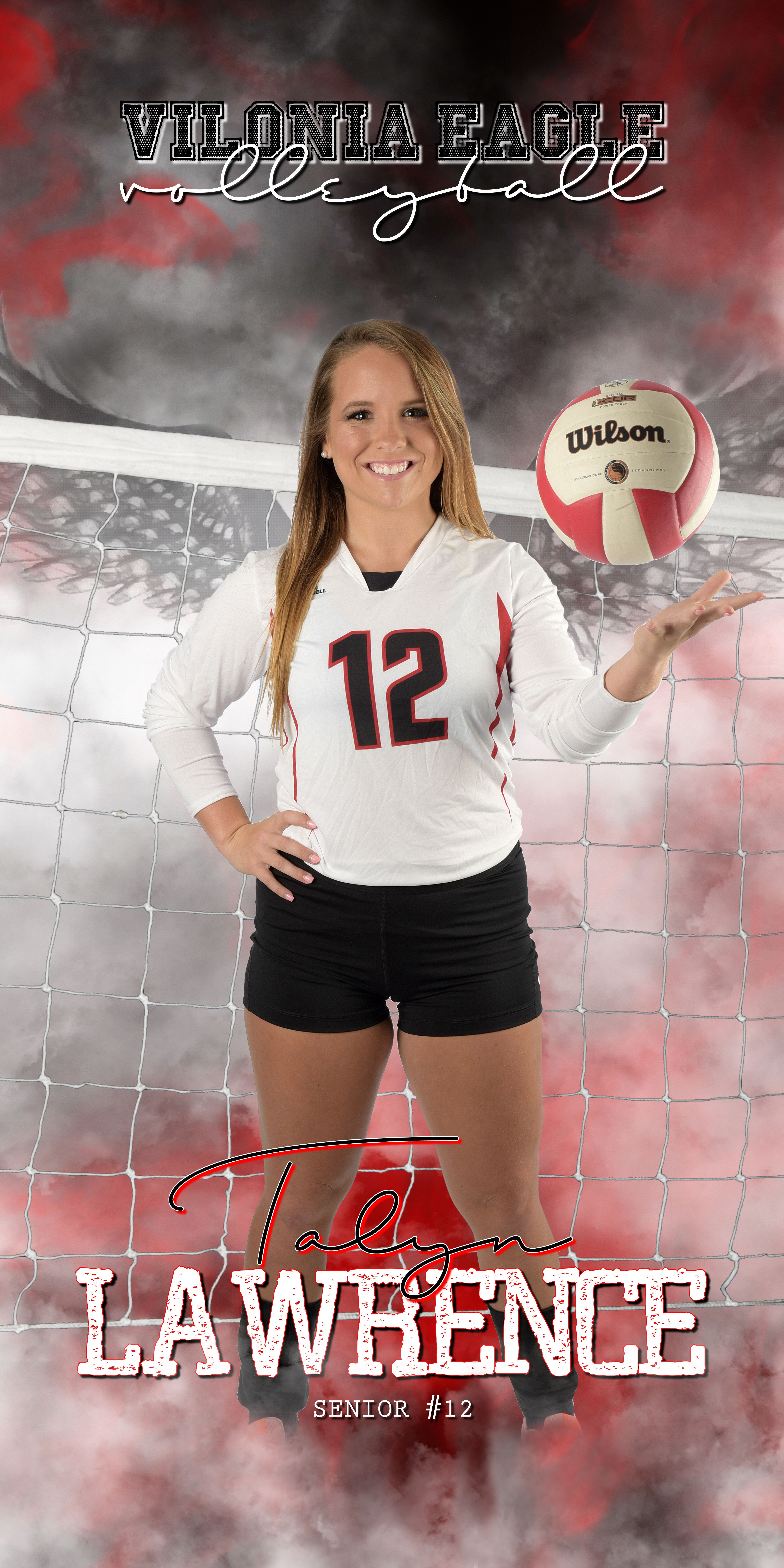 Vilonia High School Volleyball Banner Jackie Romine Photography Inc C Volleyball Banners Volleyball Senior Pictures Senior Volleyball Banner