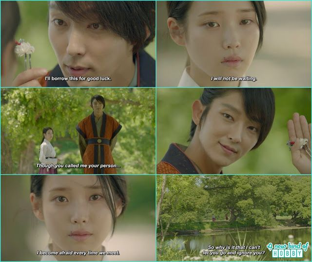 Moon Lovers Scarlet Heart Ryeo - 4th Prince Steal a Goodbye Kiss