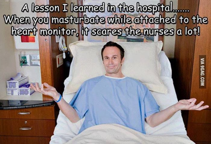 A lesson learned in the hospital... | Nurse humor, Lessons ...