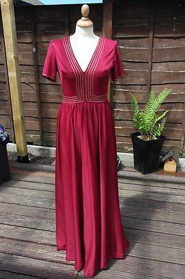 Ladies true #vintage #1970's maxi dress, #floaty boho festival dress, size 12,  View more on the LINK: http://www.zeppy.io/product/gb/2/301658972325/