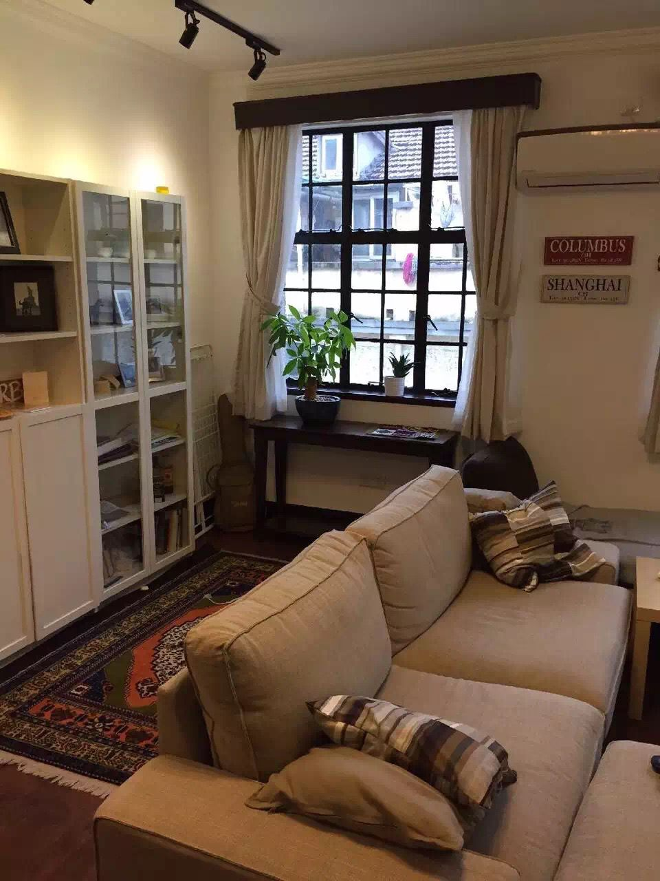 One bedroom apartment for rent on Xinle Road near Shanghai