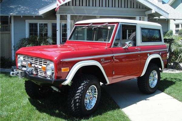 1973 Ford Bronco Custom 2 Door 4x4 That I Love Pinterest