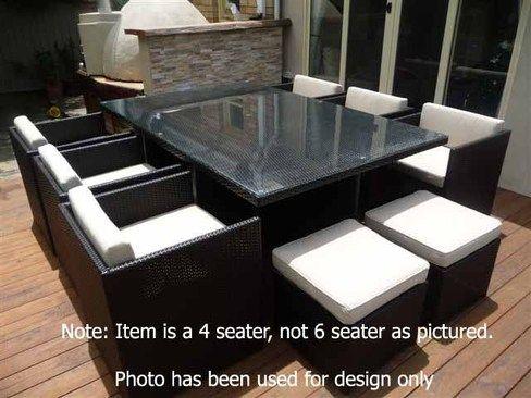 Mirage 4 Rattan garden furniture in 2018 Pinterest Furniture