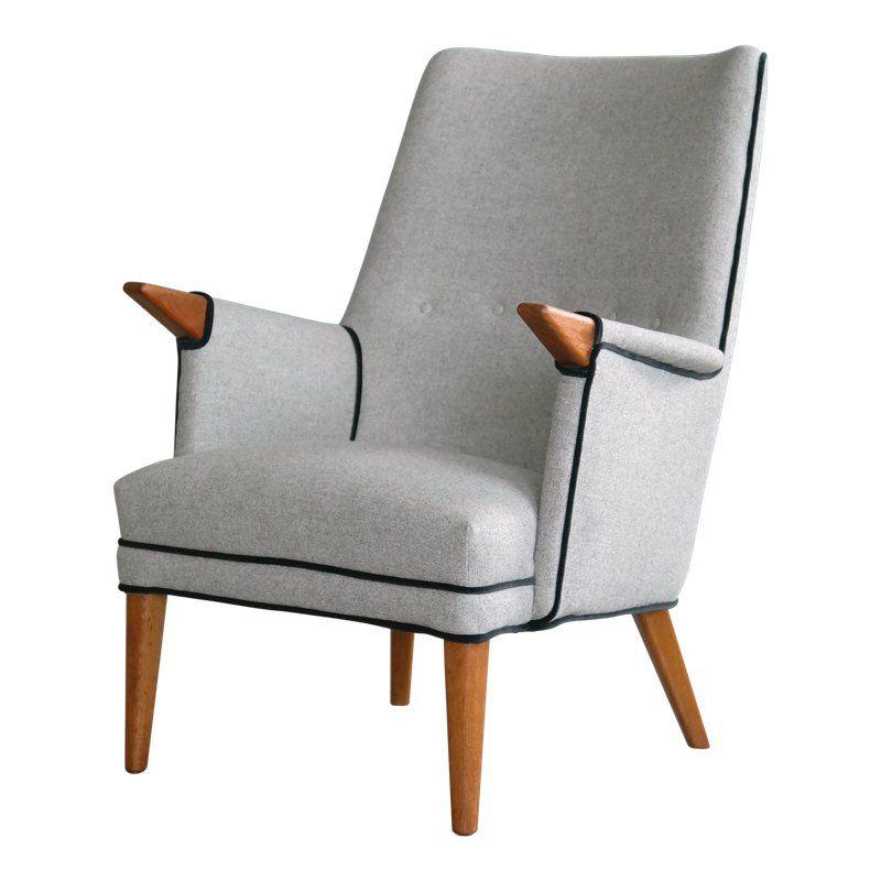 Strange Hans Wegner Style Mama Bear Lounge Chair By Sven Skipper In Ibusinesslaw Wood Chair Design Ideas Ibusinesslaworg