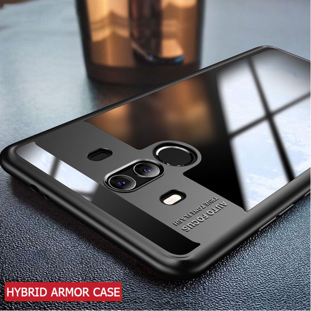 Luxury Ultra Slim Armor Hybrid Shockproof Clear TPU Case Cover