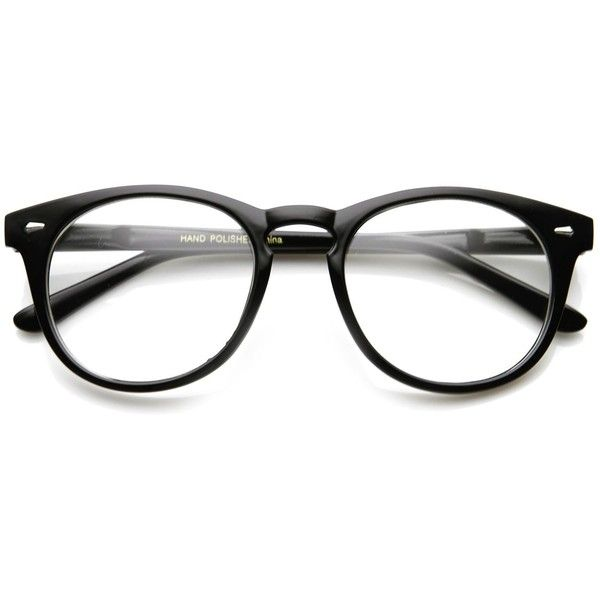 Classic Vintage Era Round p3 Clear Lens Optical Glasses 8712 ($14) ❤ liked on Polyvore featuring men's fashion, men's accessories, men's eyewear, men's eyeglasses, accessories, mens round eyeglasses and vintage mens eyeglasses