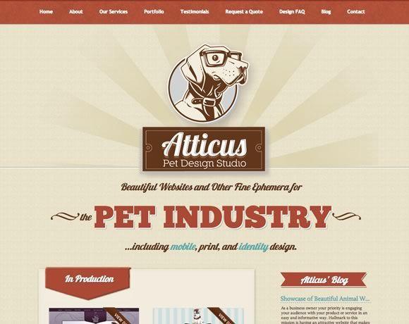 16 Inspiring Examples Of Retro And Vintage Elements In Web Design Web Design Ledger Vintage Web Design Web Design Webpage Design