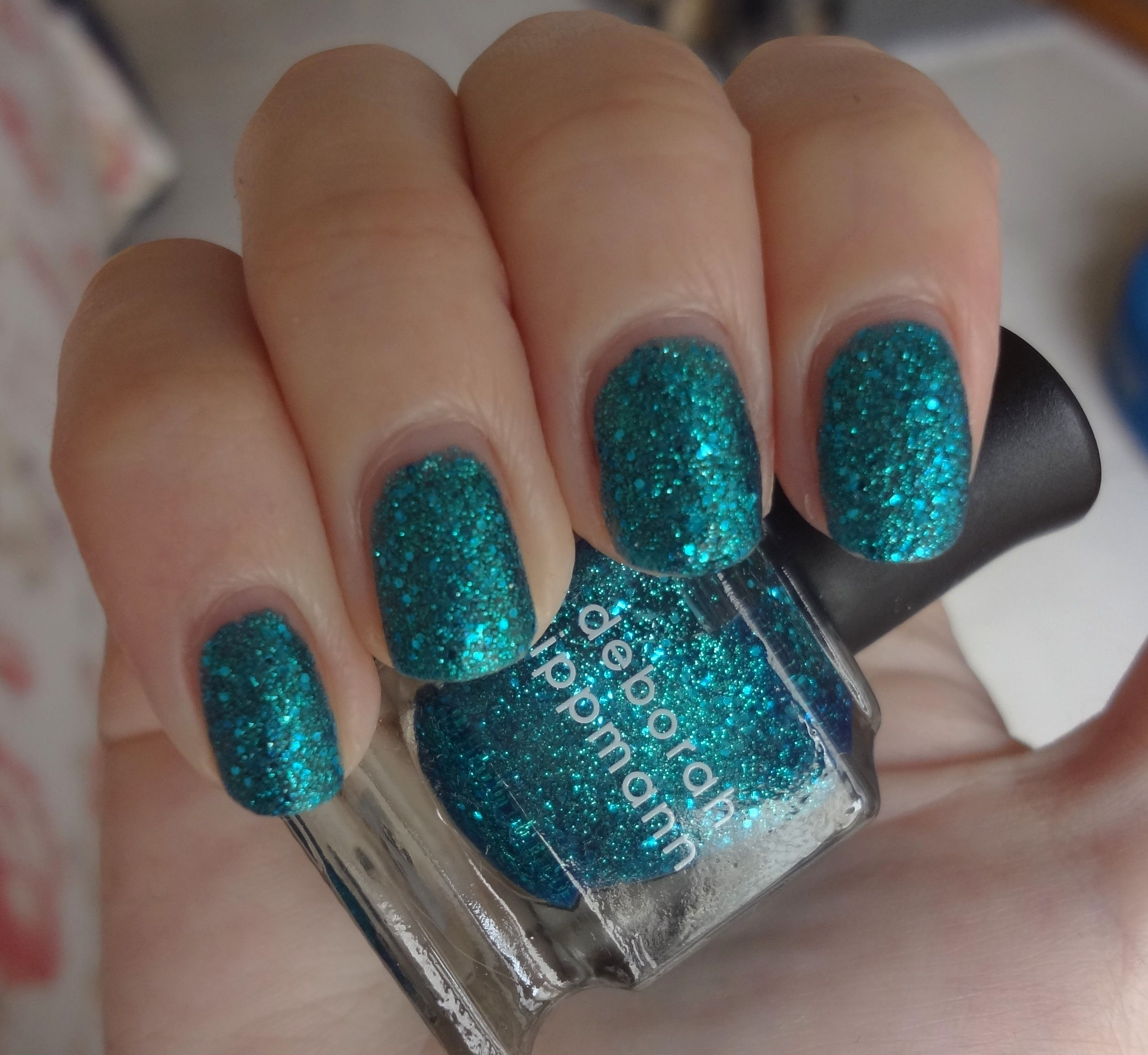 Deborah Lippmann Just Dance nail polish | glitters | Pinterest ...