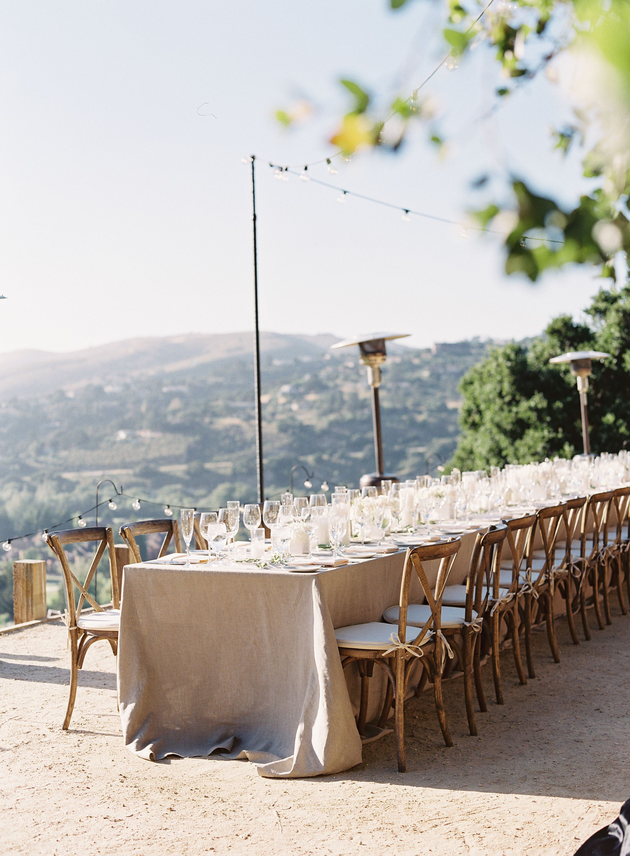 tuscan table linens