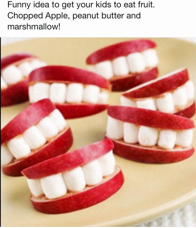 Healthy Halloween Treat ! Halloween Ideas Pinterest Healthy - halloween cooking ideas