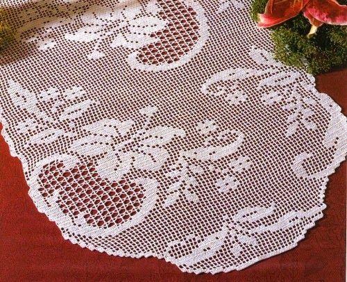 Tappeto Ovale Alluncinetto : Schema tappeto ovale uncinetto decorare la tua casa con centrino